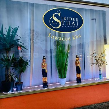 Siridee Thai Massage - Fensterfront3