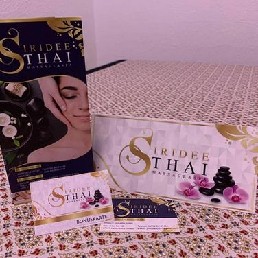 Siridee Thai Massage - Werbeartikel